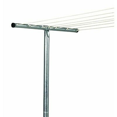 Outdoor Clothes Line Galvanized Steel T-Post