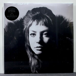 ANGEL-OLSEN-039-All-Mirrors-039-Ltd-Edition-CLEAR-Vinyl-2LP-Promo-Poster-NEW-SEALED