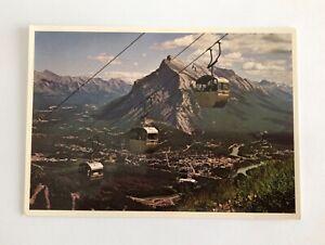 Banff Alberta Canada May. Norquay Vintage Postcard, Majestic, Bruno Engler