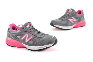 size 40 f6d17 66fda Details about New Balance Womens W990gp4 Grey/Pink Running Shoes Size 8