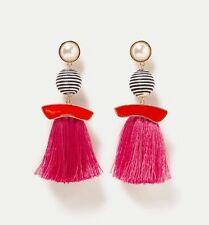 Zara SS2017 Faux Pearl Tassel Dangle Earrings - Sold Out
