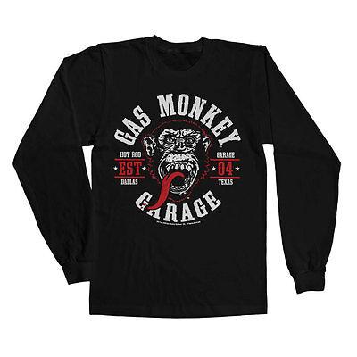 Round Seal Tank Top Vest S-XXL Sizes Officially Licensed Gas Monkey Garage