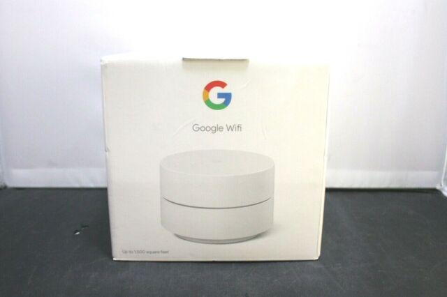 Google WiFi Mesh Network System Router Point GA02430-US NIB LOOK!