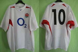 Maillot-Rugby-Angleterre-Wilkinson-10-Nike-jersey-England-Vintage-XL