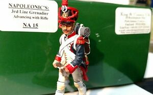 King and Country NA15 Napoleonic French Grenadier. With original K&C UK box