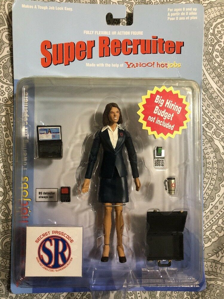 2005 2005 2005 Yahoo Hotjobs Super Recruiter Collector Edition Action Figure 82c8d0