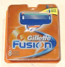 Gillette Fusion Razor Cartridge Refills, 8 count - BRAND NEW FREE SHIPPING!!