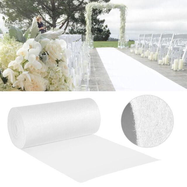 Wedding Aisle Runner Marriage Ceremony White Bridal Carpet