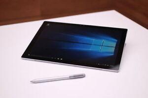 Microsoft Surface Pro 4 256GB 8GB RAM i5 without keyboard