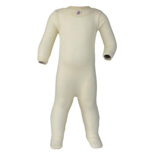 Engel Baby Schlafanzug Overall Bio-Schurwolle//Seide