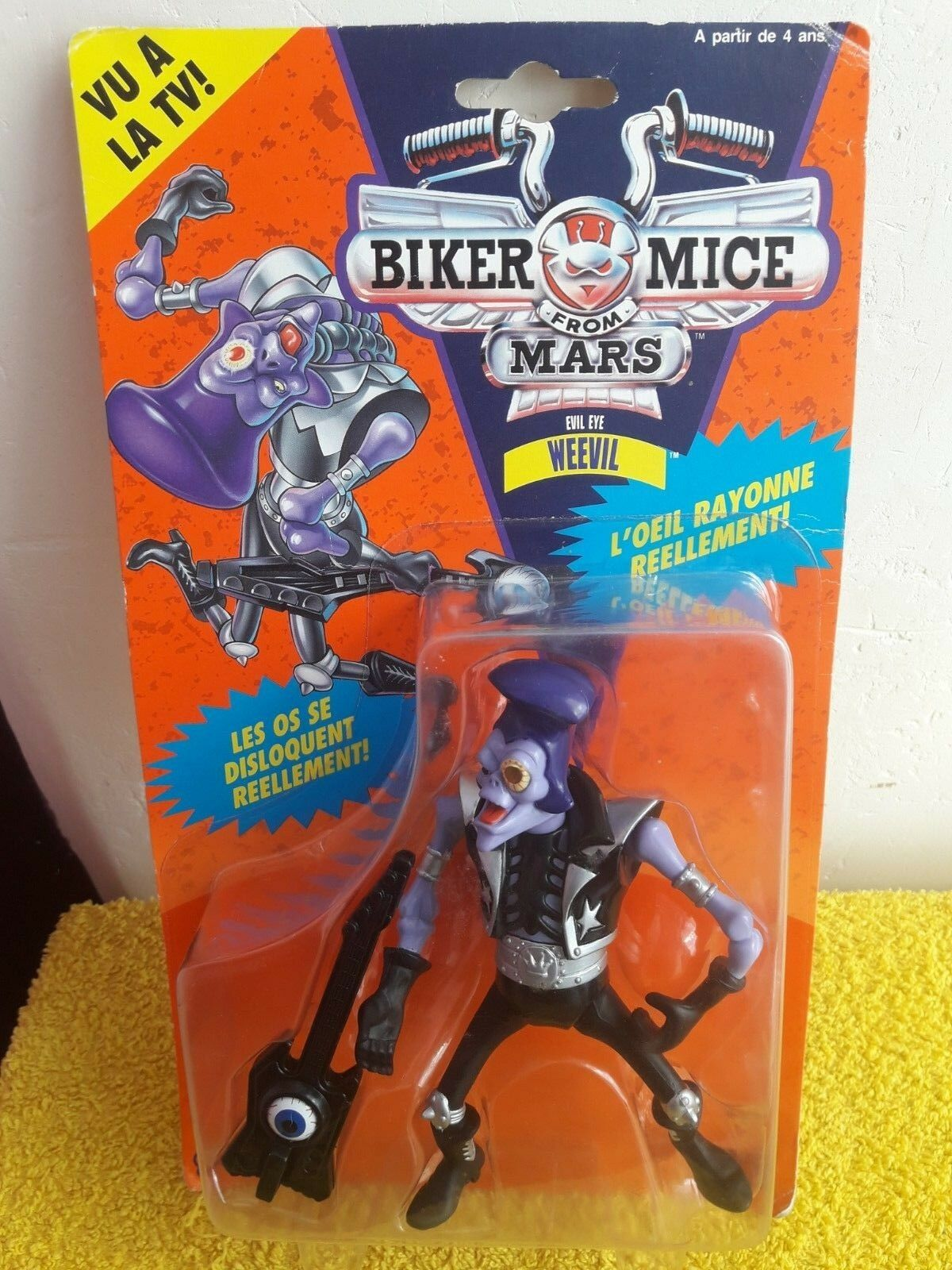 Biker Mice from Mars Evil Eye Weevil Galoob Lansay 13848 Version Français 1993 1