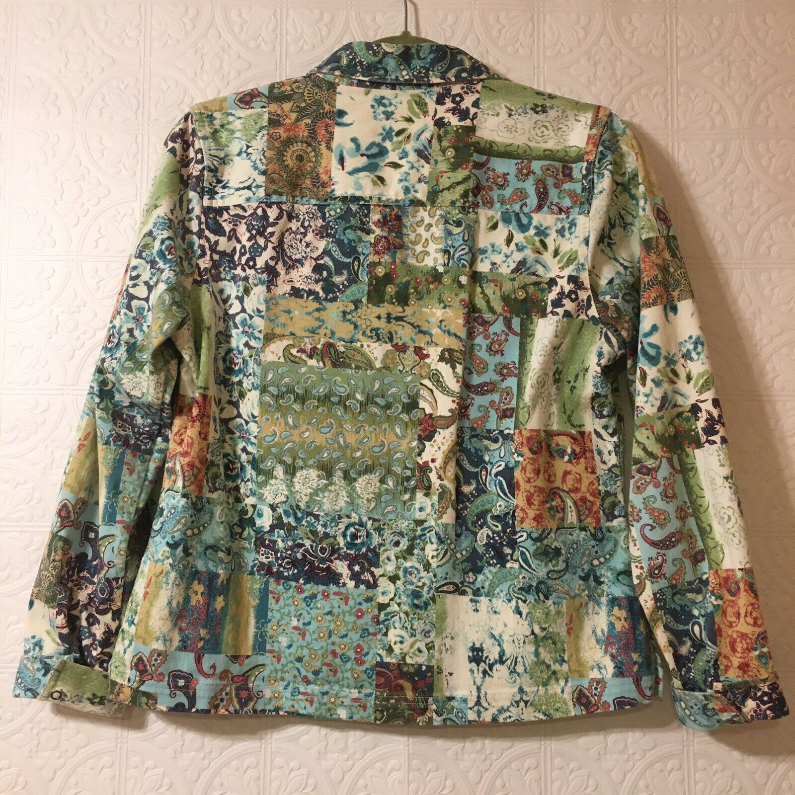 CHRISTOPHER & BANKS Jacket Women's Size Small Pea… - image 9