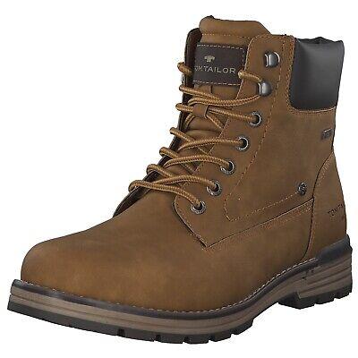 Tom Tailor Herren Stiefel Stiefeletten Boots 7980501 Braun Camel Neu | eBay