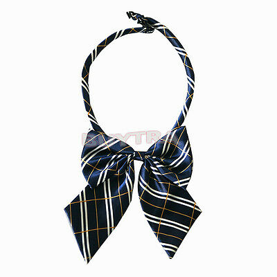 Lovely NEW Japanese School Ribbon/Bow uniform Schollook Ribbon 4 colors cosplay