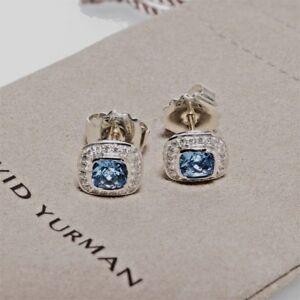 David-Yurman-Sterling-Silver-Petite-Albion-Earrings-Blue-Topaz-amp-Diamond