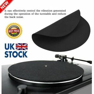 Pro Anti Static Vinyl Turntable Record Pad Antistatic Flat