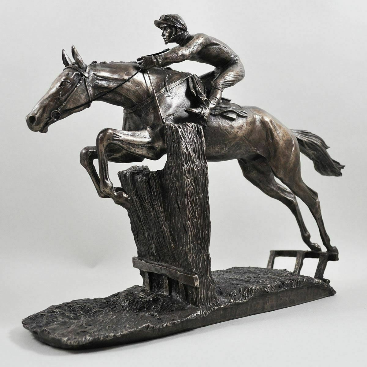 Bronze Race Horse Sculpture Horses Gifts Statue Figurine Figurine Figurine Ornament Figure dd5ba9