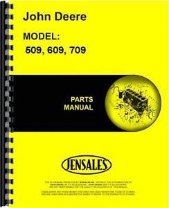 john deere 509 609 709 rotary cutter parts manual ebay rh ebay com john deere 506 bush hog manual john deere brush hog manual