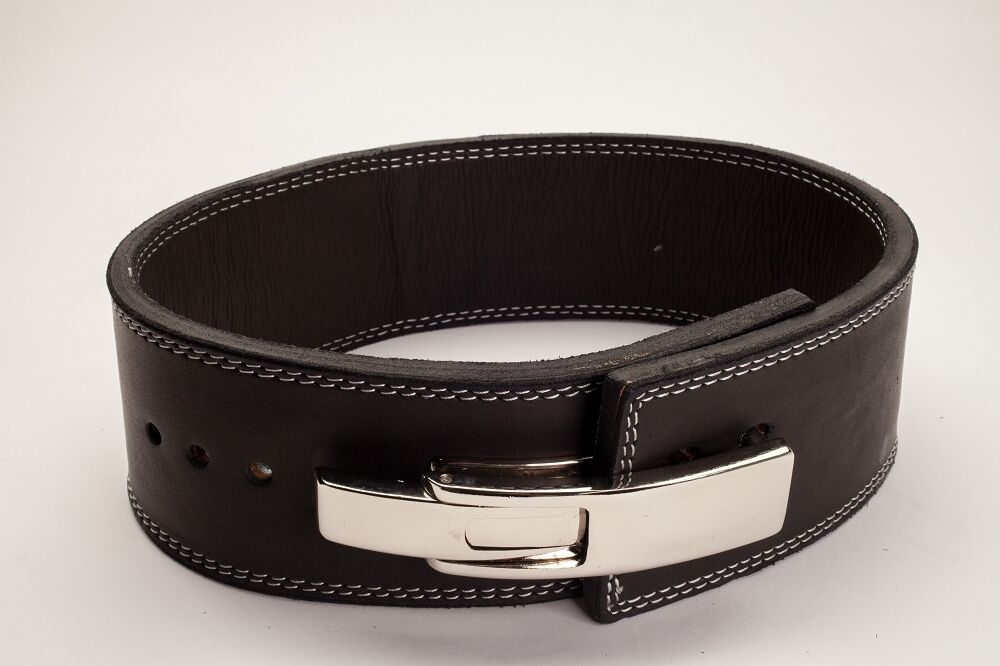 Polished Leather Weightlifting  Powerlifting 13mm Lever Belt Now IPF USPA legal  a lot of concessions