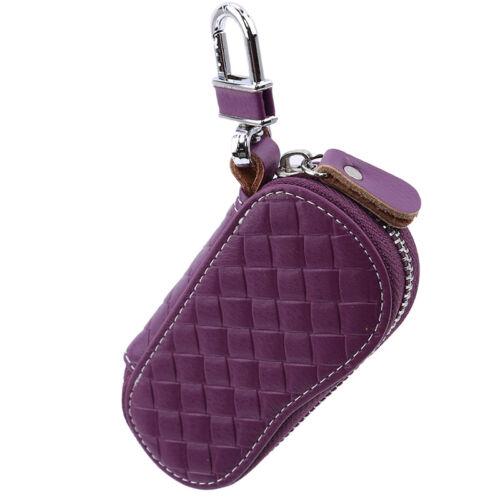 Women Key Wallets Men Women Car Key Bag Key Case Housekeeper Key Holder G