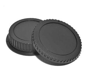 Kamera-Hinten-und-Body-Objektiv-Set-Canon-EF-EF-S-EOS-Lens-DSLR-SLR-Body-Cap-Set