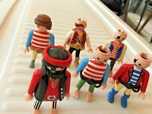 Vintage-Geobra-Playmobil-Lot-Misc-Figures-Pirates-SKU-057-70