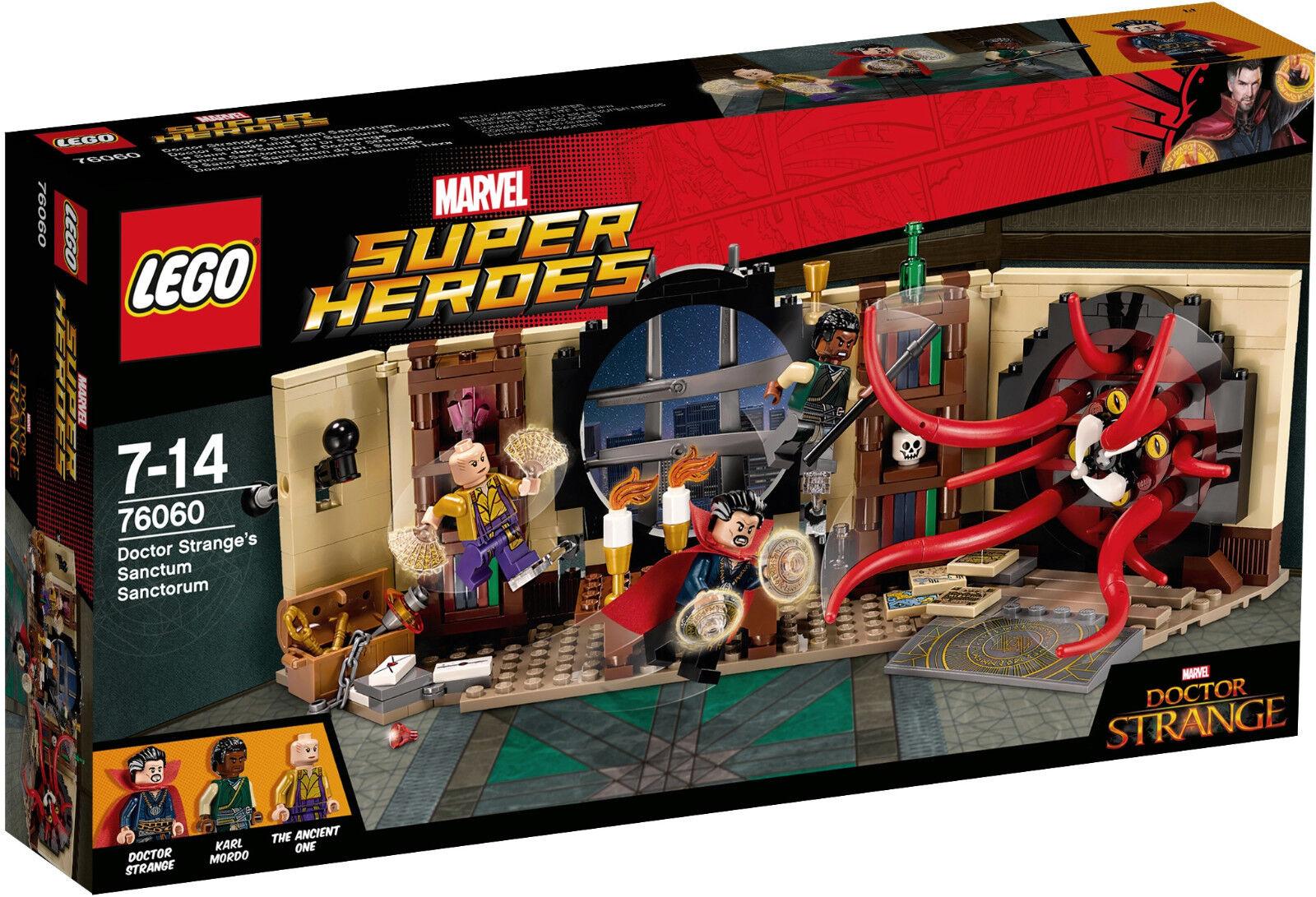 LEGO SUPER HEROES MARVEL DOCTOR STRANGE'S SANCTUM SANCTORUM 76060 - NUEVO