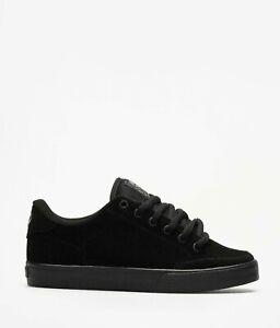 quality design fc9fc cc378 Dettagli su C1RCA LOPEZ 50 scarpe circa da uomo donna skateboard nere in  pelle sintetica
