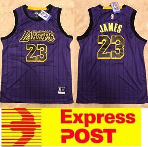 wholesale dealer 6eb41 82ecc LA Lakers #23 Lebron James City edition jersey, Mel Stock ...