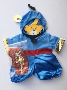 New Set Build a Bear Teddy Bear Clothing Disney Aladdin Genie Costume 4 pc