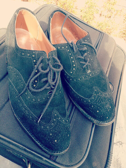 BAXTER SUEDE BROGUE Taille UK 8.5EEE