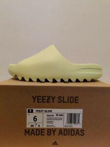 Adidas Yeezy Slide Glow Green GX6138 Size 6 - (New In Box)