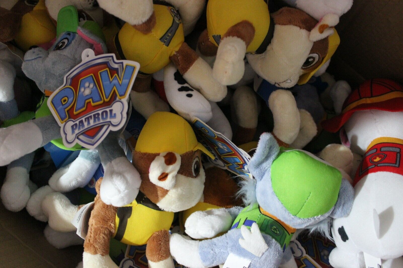 Set of 24X Nickelodeon Paw Patrol 6  Pup Pals Stuffed Plush Doll Kids Gift Toy
