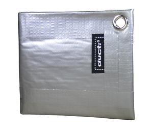 Silver Ducti Classic Bi-Fold Duct Tape Wallet
