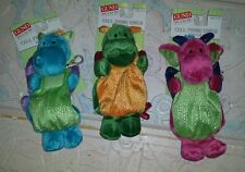 L@@k!!! Gund kids dragon cell phone covers or bag with clip lot of (3)