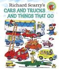 Giant Little Golden Book: Cars and Trucks and Things That Go by Richard Scarry (1998, Hardcover)