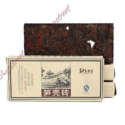 2013 yr 250g Bamboo Packed Yunnan JingGu Pu'er Puer puerh Tea Ripe Fitness Brick