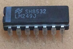 1-pc-LM249J-NSC-DIP14-BP