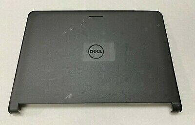 New Genuine Dell Latitude E6400 LCD Back Cover Lid  W// Hinges Cables R150P K802R