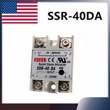 24v 380v Ssr 40da 3 32v Dc Ac Solid State Relay Module Temperature Controller