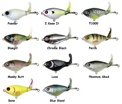 Choice of Colors River2Sea Whopper Plopper 75 Topwater Bait