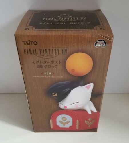 Final Fantasy XIV Moogle Projection Clock by Taito Authentic Anime Japan