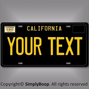 California Personalized Plates - Best Plate 2018