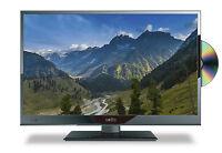 "16"" 12 Volt HD Digital Ultra slim LED TV DVD Caravan, Boat, Marine, HGV 24 V 12V"