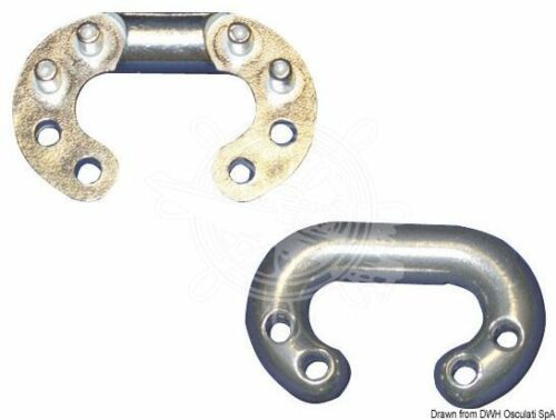Osculati 8-Stifte Ketten-Notglied AISI 316 10 mm