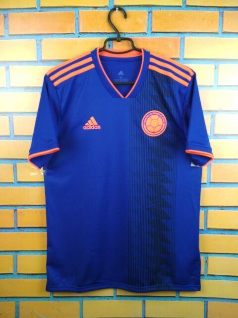 b8656d9d73c0d 5 /5 Colombia Soccer Jersey Medium 2018 Away Shirt CW1562 adidas Football  Ig93