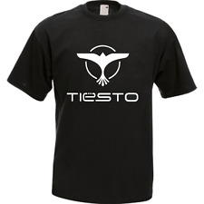 Tiesto Trance Techno Electronic House Music Dj Black Men's T-Shirt