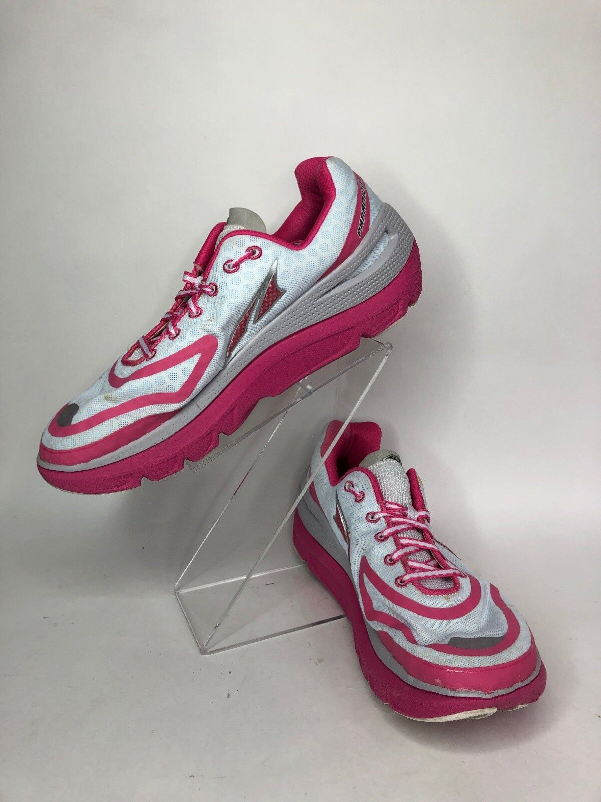 Altra Paradigm NRS Womens Trail Running shoes Size 9.5 Pink White A2435-1 B7