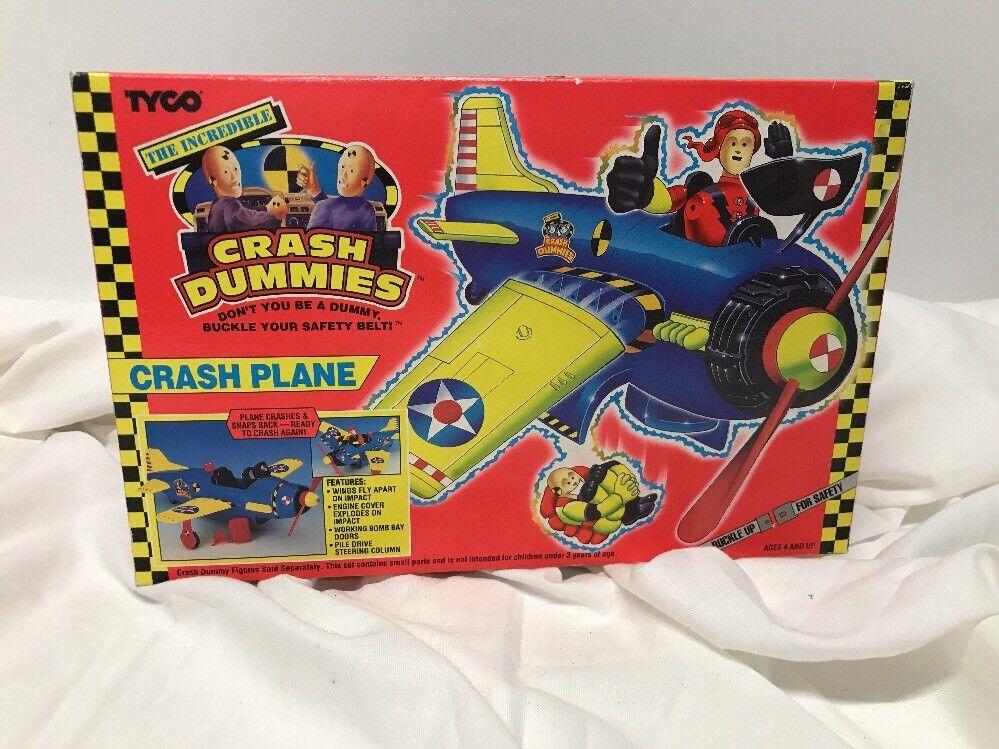 Vintage 1992 Crash Dummies