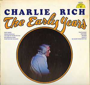 CHARLIE-RICH-034-THE-EARLY-YEARS-034-70-039-S-LP-USA-SUN-132